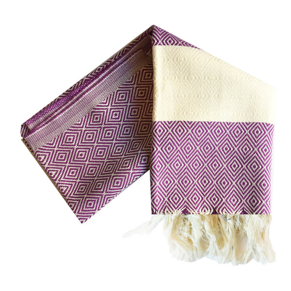 Bianca Turkish Towel : Purple