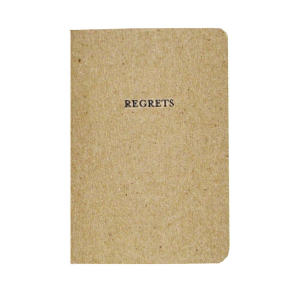 Notebook : Regrets
