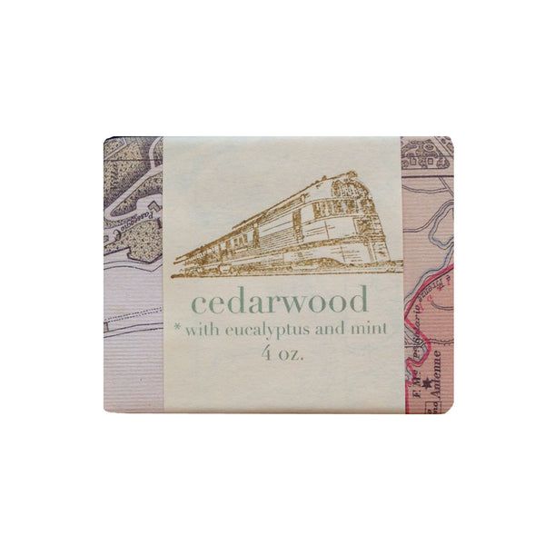 Saipua Soap : Cedarwood