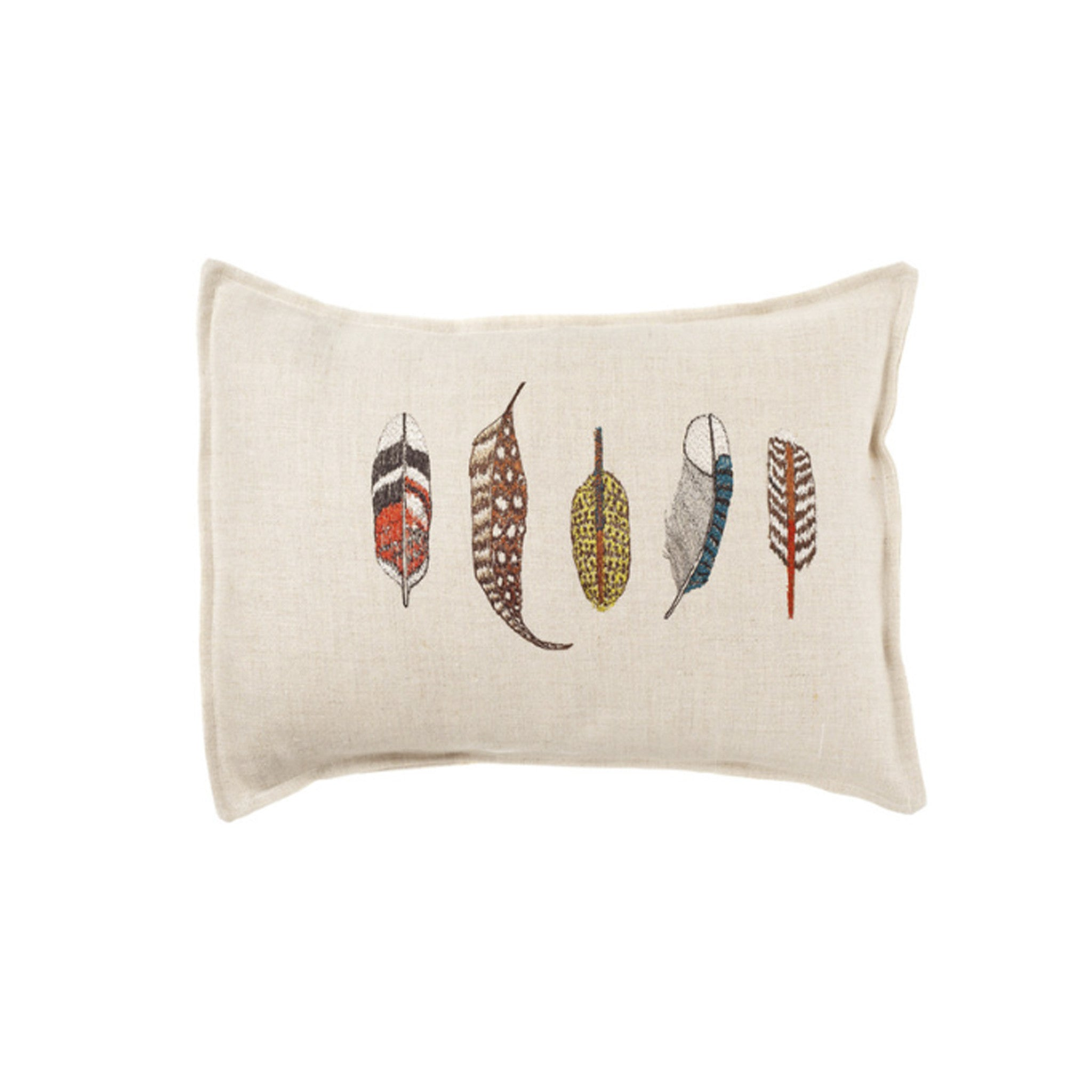 Coral and Tusk : Small Feathers Pillow