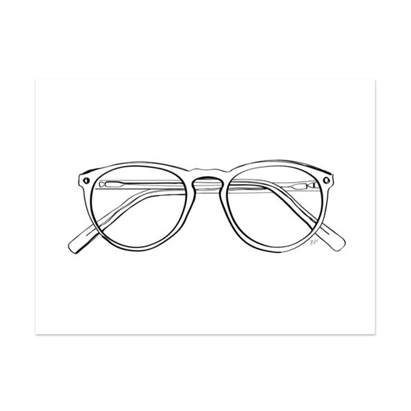 Note To Self : Spectacles Print
