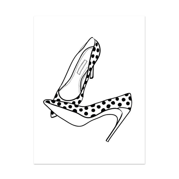 Note To Self : Stilettos Print