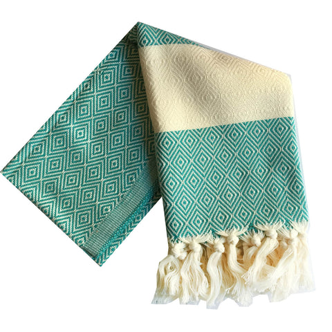 Bianca Turkish Towel : Turquoise
