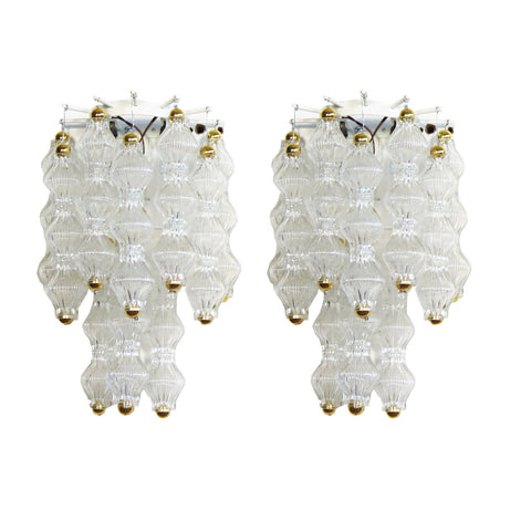 Pair of Maxine Murano Sconces