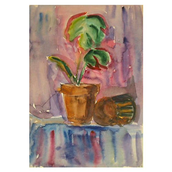 Vintage Still Life Watercolor