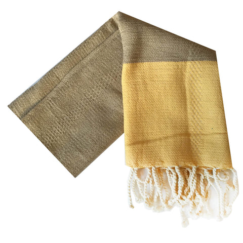 Kehoe Turkish Towel : Yellow