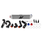 Mishimoto 2016+ Honda Civic 1.5T / 2017+ Honda Civic Si Silver Intercooler Kit w/Black Pipes