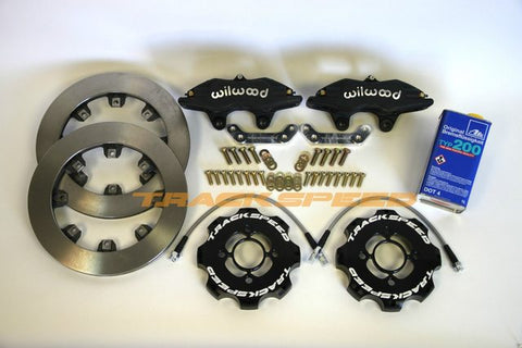 "Trackspeed Engineering 11.75"" Big Brake Kit -DynaLite/Standard Rotor"
