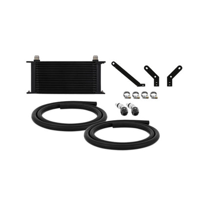 Mishimoto 15 Subaru WRX CVT Transmission Cooler Kit - Black