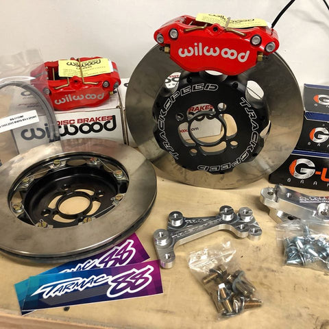 "Trackspeed Engineering 11.75"" Big Brake Kit -DynaPro/Directional Vane"