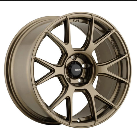 Konig Ampliform 18x9.5 5x114 +35 Bronze