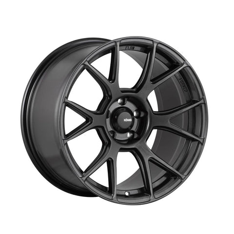 Konig Ampliform 18x9.5 5x114 +35 Dark Grey