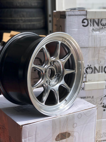 Konig Countergram 15x8 +25 - Hyper Chrome