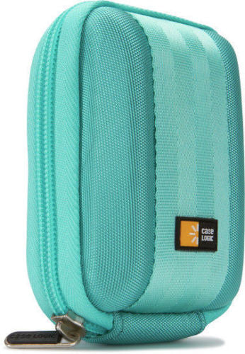 Case Logic Eva Moulded Carrying Case for Camera - Turquoise QPB-201 - LiquidationOutlet.ca