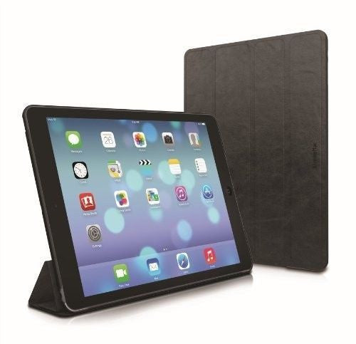 Xtrememac iPad Air 5 Distressed Ultra Thin Protection Folio Black - IPD-MFL5-13 - LiquidationOutlet.ca