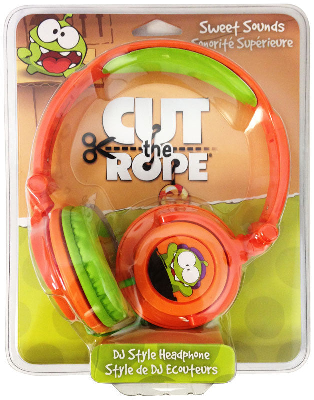 Maxell Cut The Rope DJ Style Headphones - 190803 - LiquidationOutlet.ca