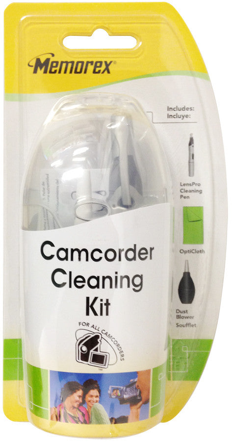 Memorex Camcorder Cleaning Kit Includes LensPro Cleaning Pen + More - LiquidationOutlet.ca