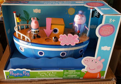New Peppa Pig Grandpa Pig's Bath-time Boat