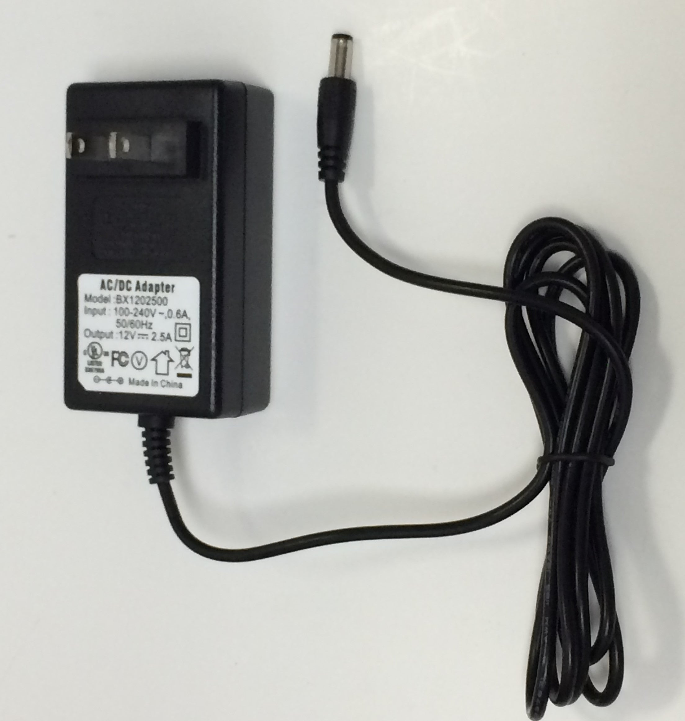 AC/DC Adapter For Lorex Model: BX1202500 DVR Security System