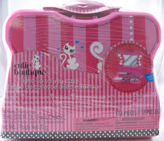 Teens Girls Cutie Boutique Light-up Vanity Case 118 Pieces Included