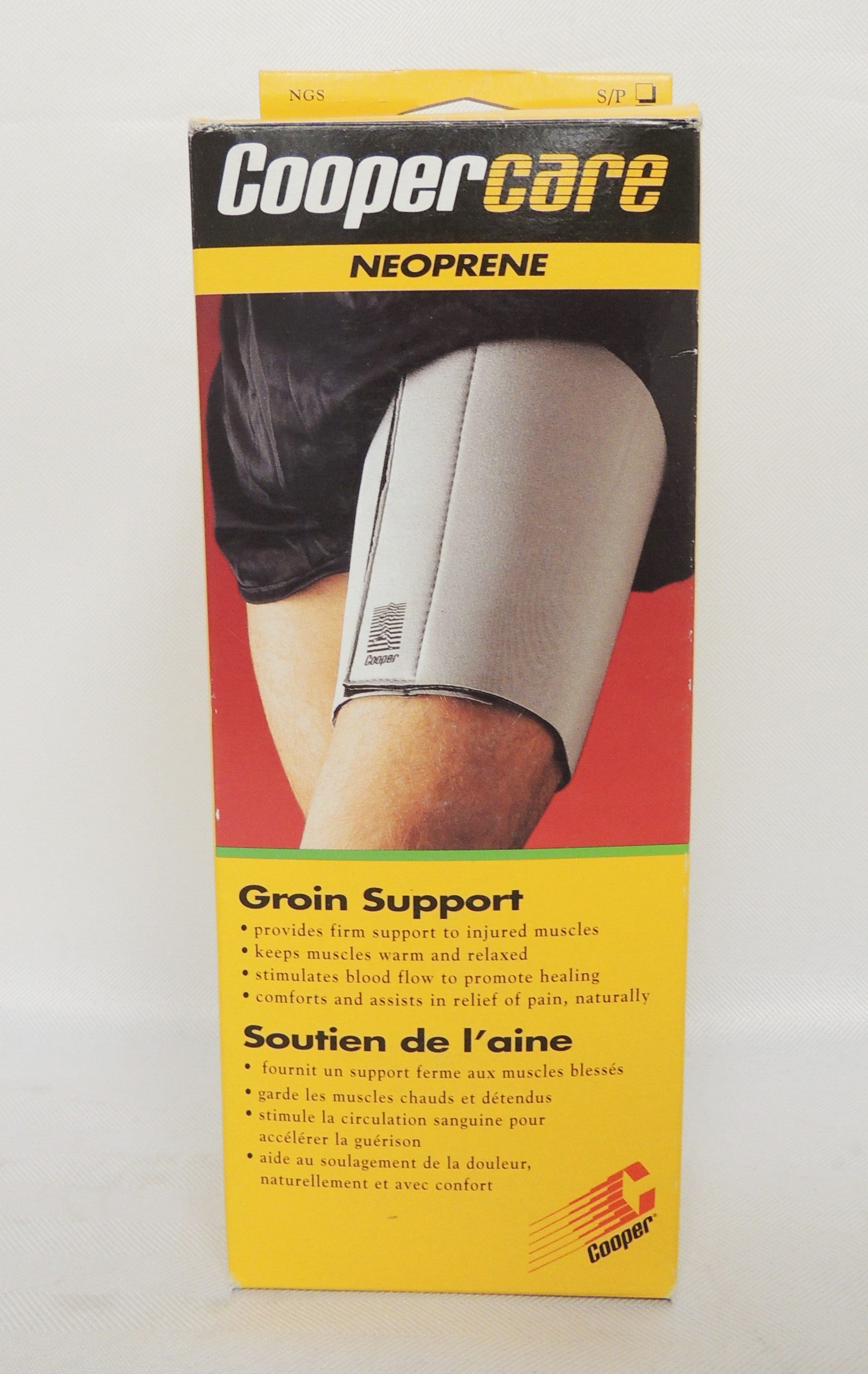 Coopercare NeopreneGroin Support keeps muscles warm and relaxed XL size