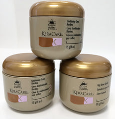 New, AVLON KeraCare Conditioning Creme Hairdress, 4 oz