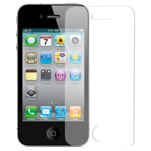 Iphone 4 / 4S Screen protector front - LiquidationOutlet.ca
