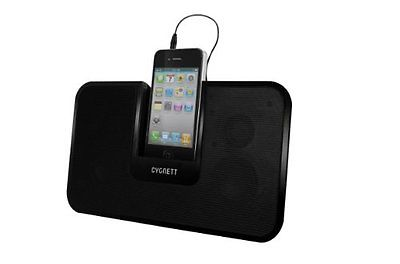 Cygnett CentreStage Speaker Stand Black - iPhone ipod Touch - Y0756SSCST