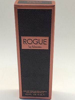 New, Rogue Rollerball by Rihanna 0.2oz / 6ml Eau De Parfum Women's Perfume