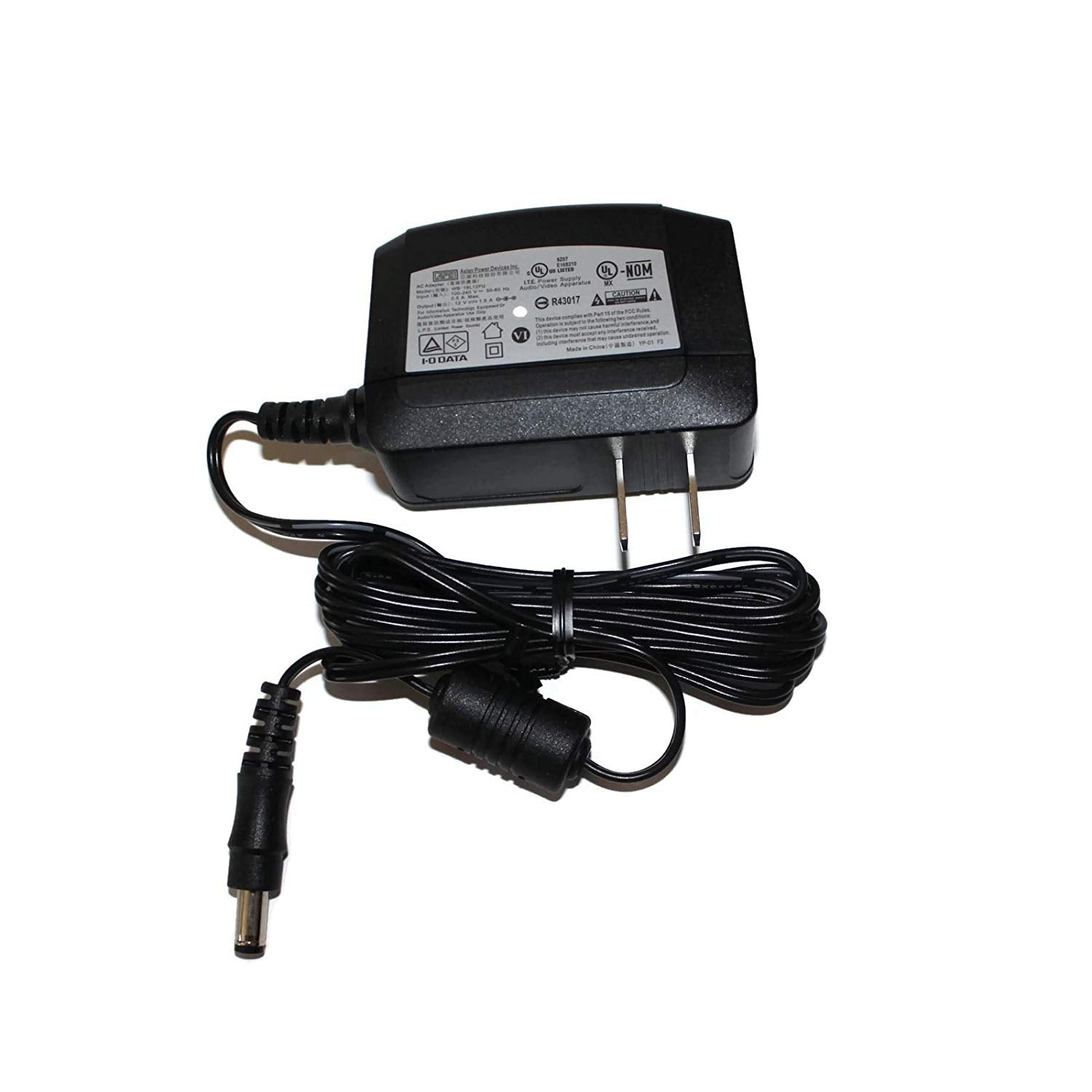 APD AC Adapter 12V 1.5A 120-240V 50-60Hz for WD / Seagate HDD - WB-18L12FU