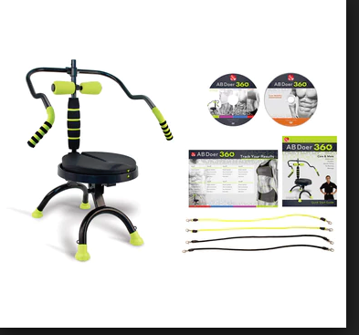 New, Ab Doer 360 Fitness System Set- A Total Body Workout