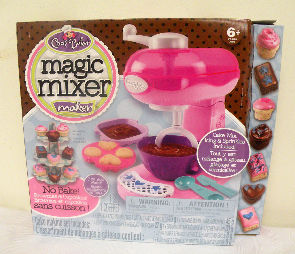 Cool Baker Magic Mixer Maker - Pink ( Dessert Stand Included)