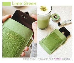 Antenna Shop Sleeve Case for iPhone ipod Green - LiquidationOutlet.ca