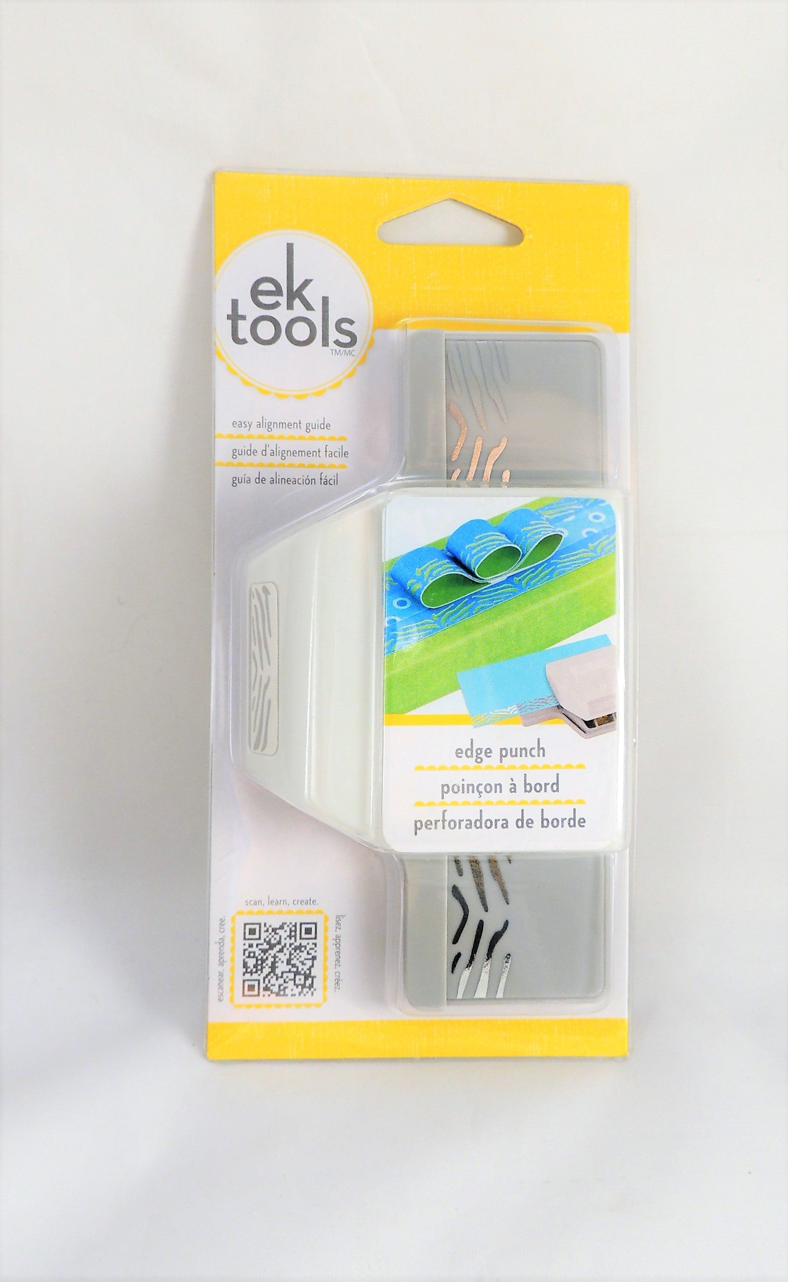 New EK Success Tools Edge Punch Zebra pattern design 54-40125