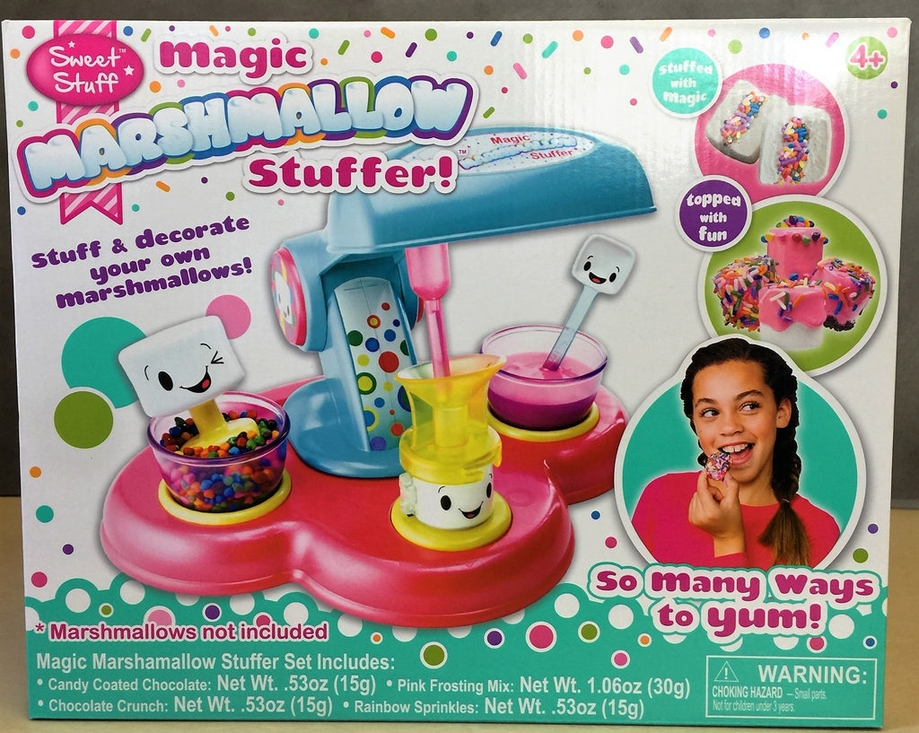 New, Sweet Stuff Magic Marshmallow Stuffer for Ages 4 and up