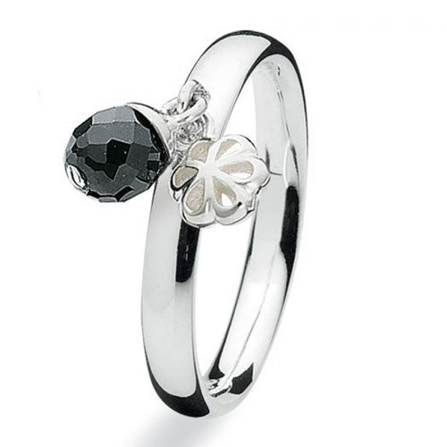 NEW Genuine Spinning Jewelry Stackable Silver Ring 703-07