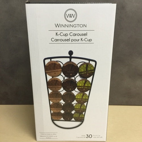 NEW Lot of 75 PCS Winnington 30 K-Cup Holder Carousel For Keurig