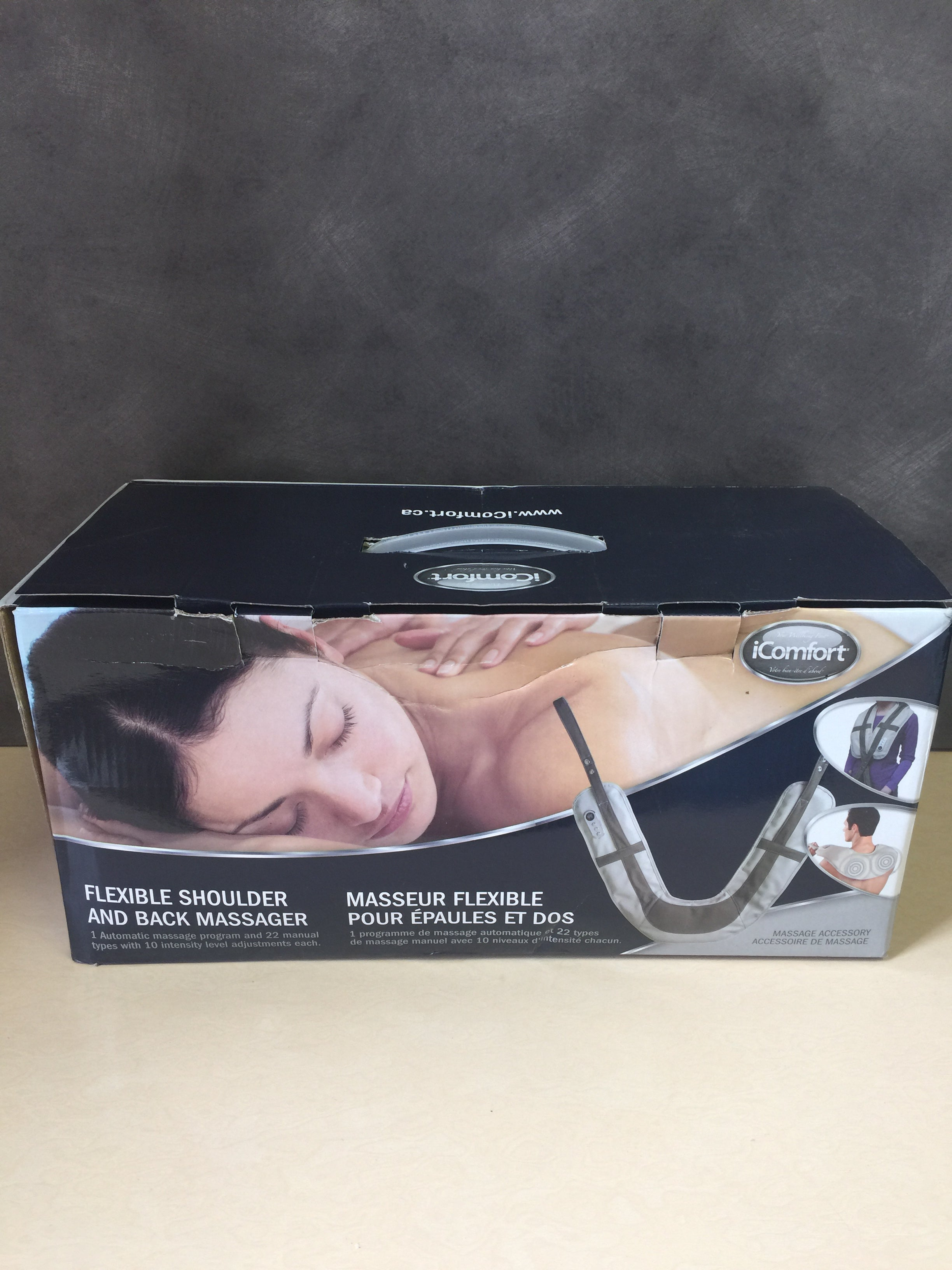 iComfort IC0954 Electric Shoulder and Back Massager