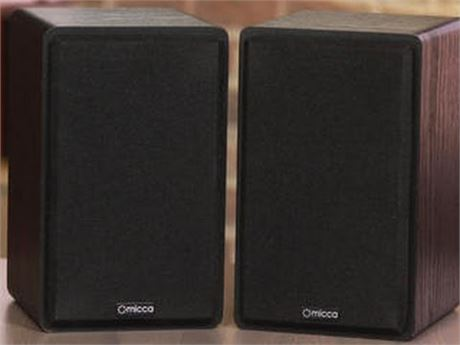 New Micca MB42 Bookshelf Speakers Open Box PickUpOnly