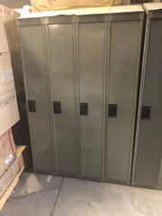 Set of 4 Metal lockers for (Pick up only)
