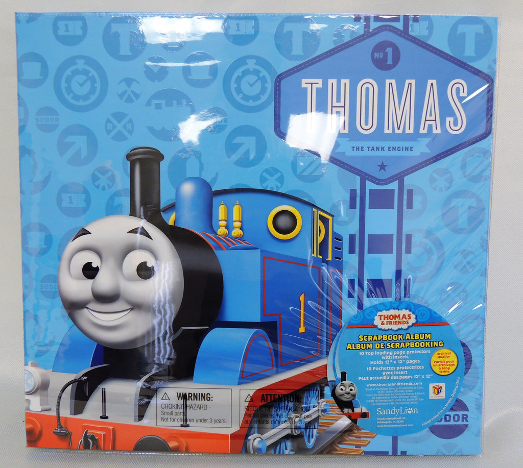 Thomas & Friends Embossed Postbound Album 12X12 in - Thomas The Tank