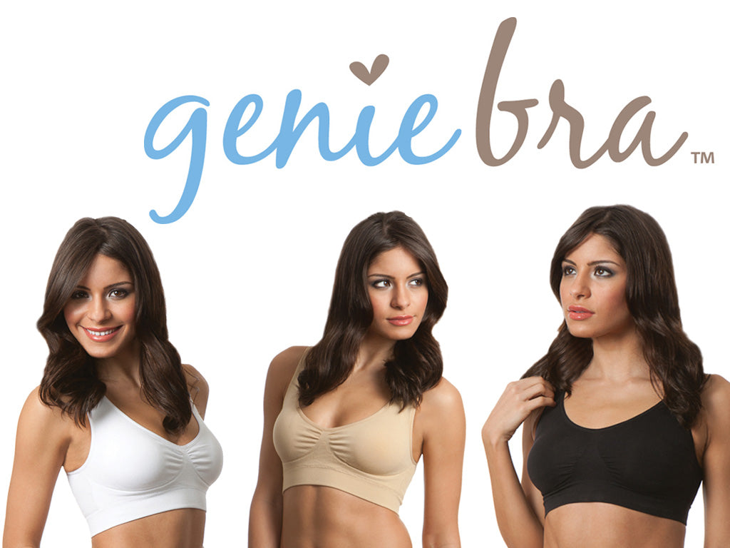 f489d11b36 Genie Classic Bra With Removable Pads White