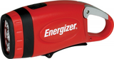 Brand New, Energizer Weatheready 3-LED Carabiner Rechargeable Crank Light, Red