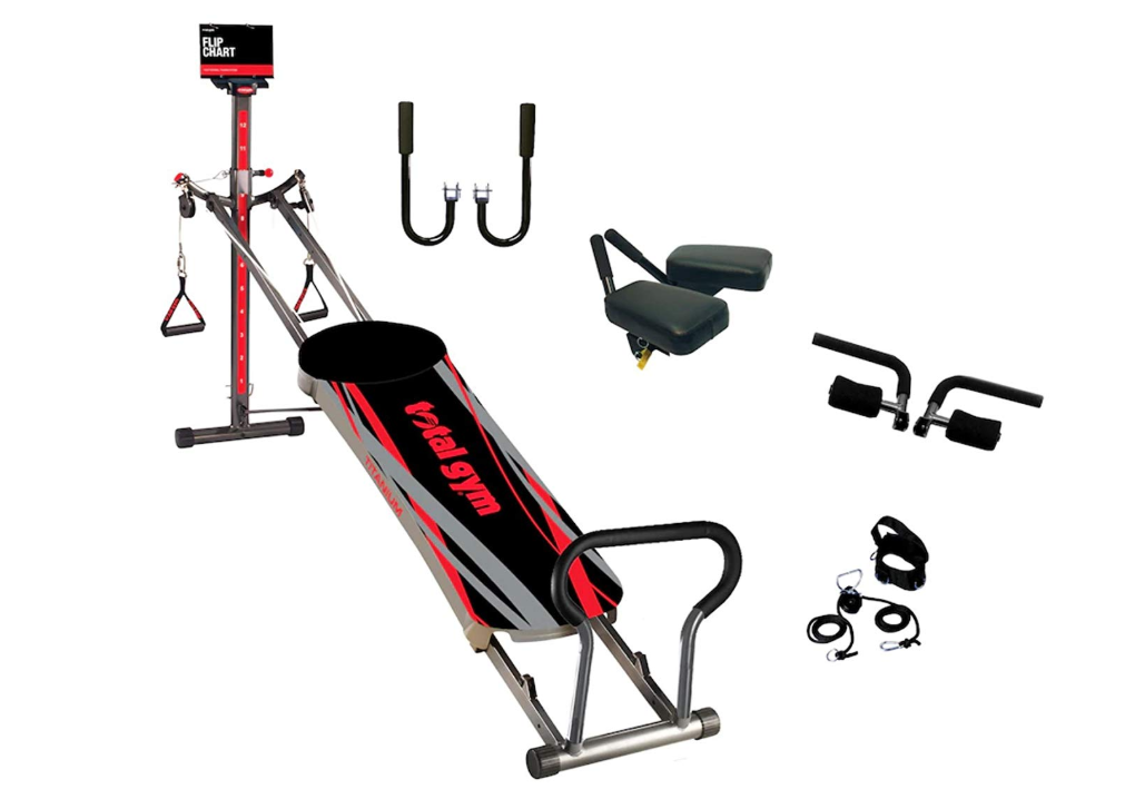 Total Gym Titanium with 4 Dvds and Exercise Flip Chart -FOR PICK UP ONLY!!