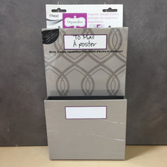 "NEW, Mead Organizher Hanging Magnetic Storage Pockets, 6"" x 10"""