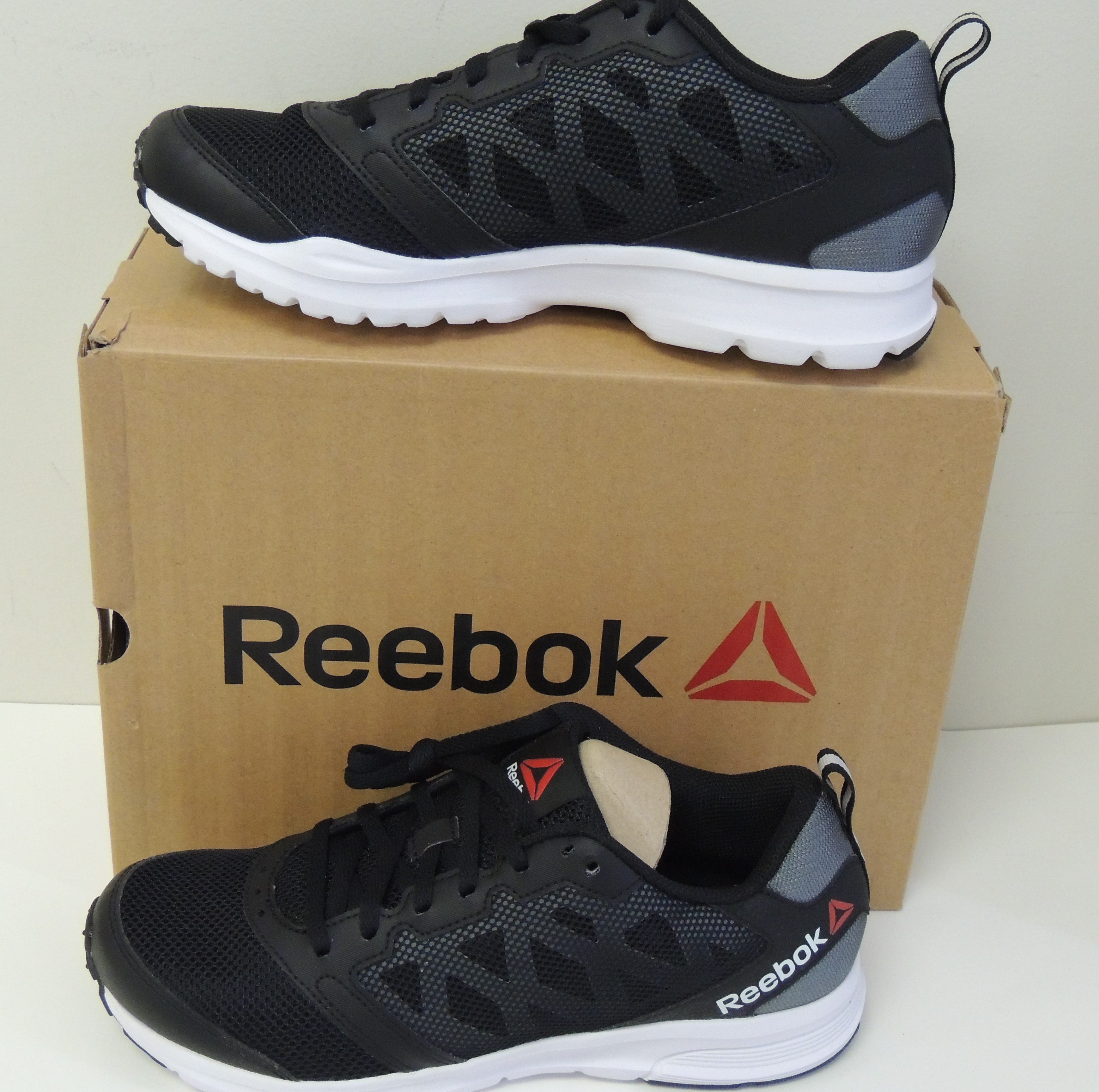 2 Shoes Reebok Women's 0 Running Blackwhite ar2652 Rush Size 0r1r4