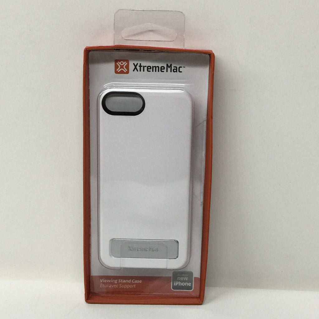 XtremeMac IPP-KSN-03 Microshield Stand Case for iPhone 5/5s - Pearl