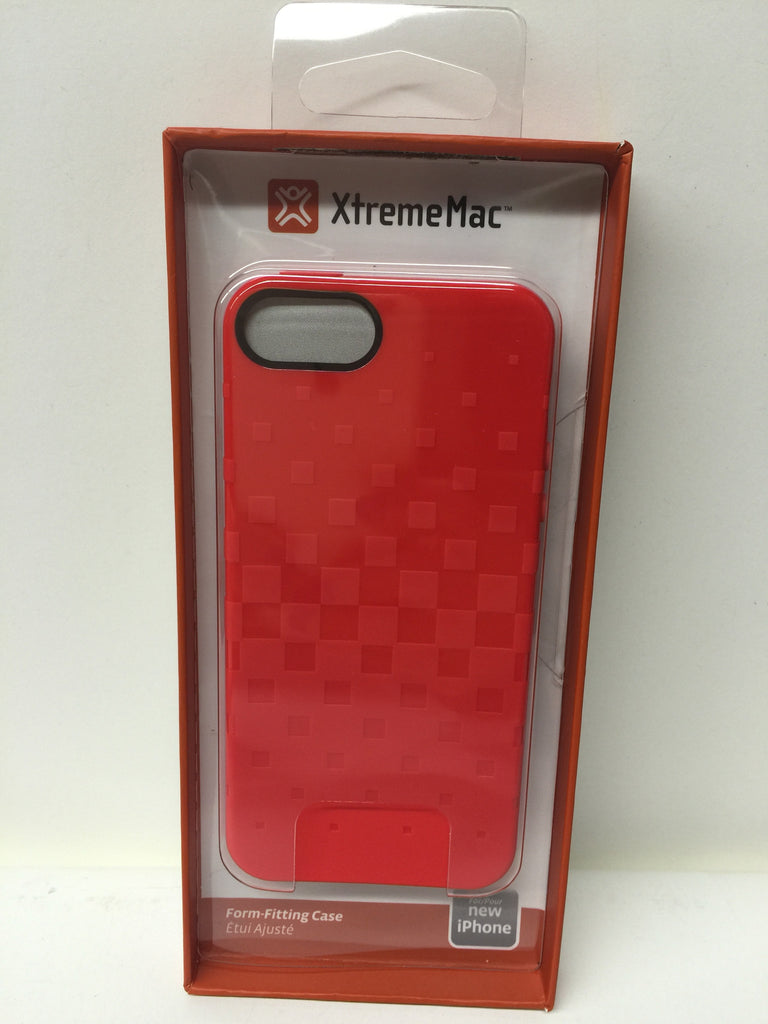 XtremeMac IPP-TWN-73 Tuffwrap Case for iPhone 5/5s - Cherry Bomb Red