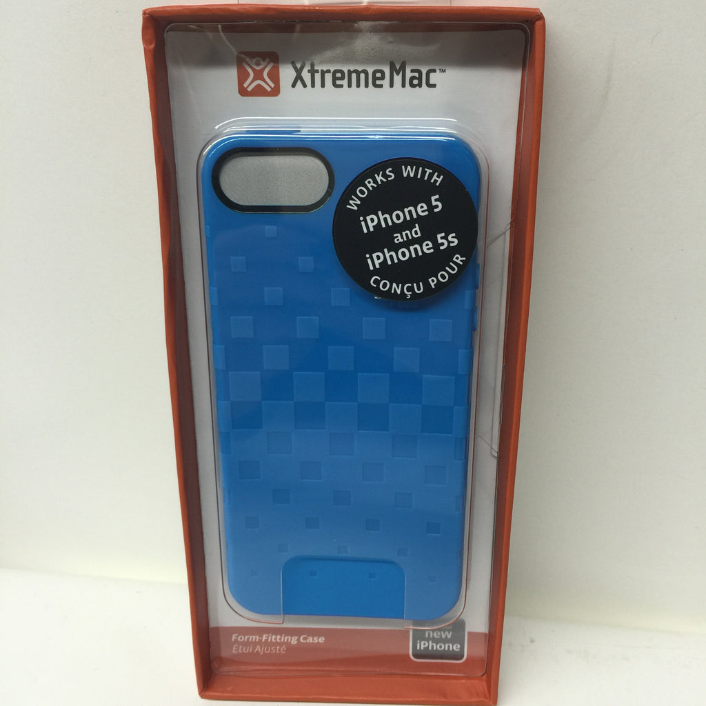XtremeMac IPP-TWN-23 Tuffwrap Case for iPhone 5/5s  - Peacock Blue