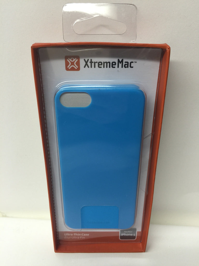 XtremeMac IPP-MTN-23 Microshield Thin Case for iPhone 5/5s Blue